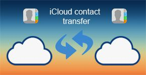 iCloud contact transfer