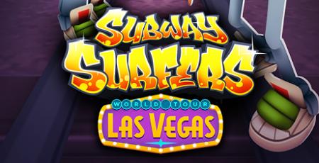Subway Surfers Las Vegas Limitsiz pul və açar