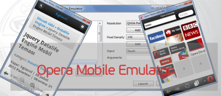 Opera Mobile Emulator 12.1