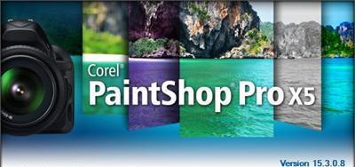 Corel PaintShop Pro X5 v15.3.0.8 SP3