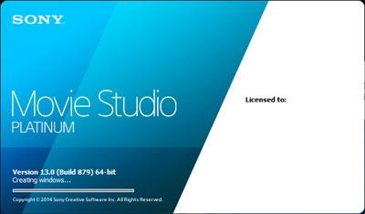 Sony Movie Studio 13.0 Build Full x86/x64