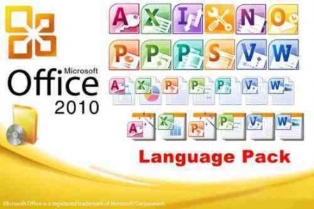 Office 2010 Dil Paketləri - Office 2010 Language PACK (x86 & x64)