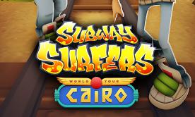 Subway Surfers [Limitsiz pul və açar] (Cairo)