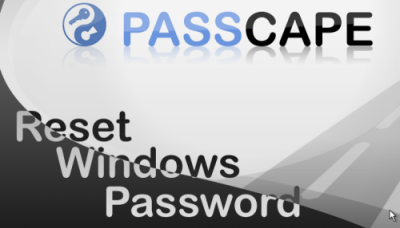 Passcape windows reset password